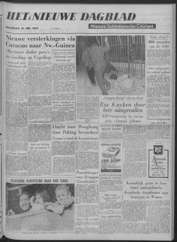 Nieuwe Schiedamsche Courant 1962-05-21