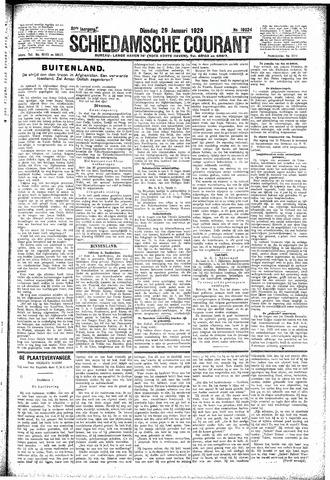 Schiedamsche Courant 1929-01-29