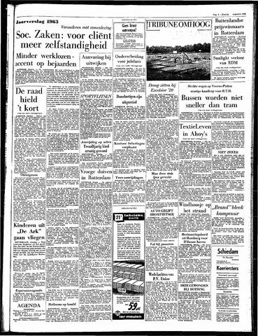 Rotterdamsch Parool / De Schiedammer 1964-08-25