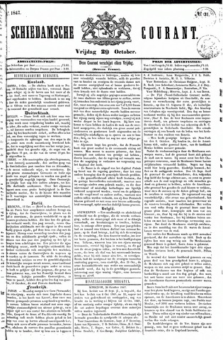 Schiedamsche Courant 1847-10-29
