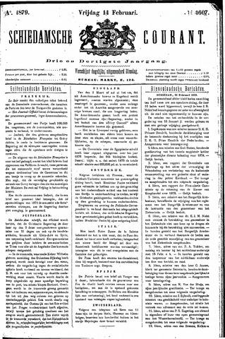 Schiedamsche Courant 1879-02-14