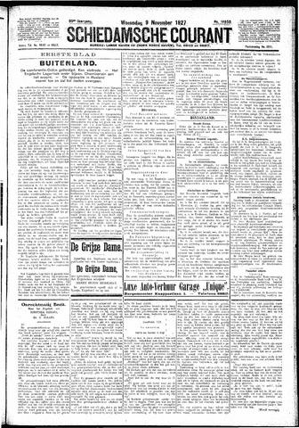 Schiedamsche Courant 1927-11-09