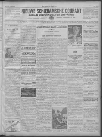 Nieuwe Schiedamsche Courant 1932-04-16