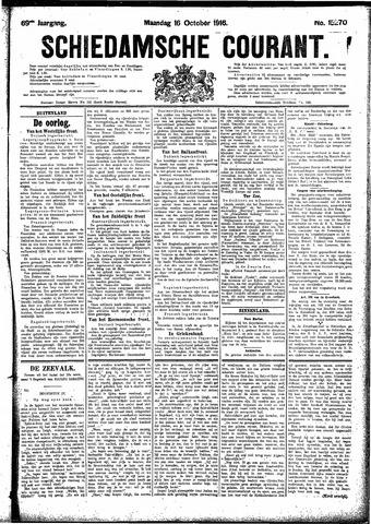 Schiedamsche Courant 1916-10-16