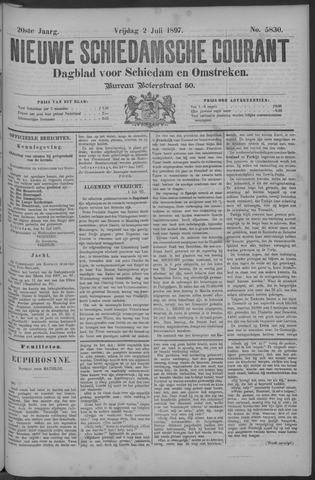 Nieuwe Schiedamsche Courant 1897-07-02