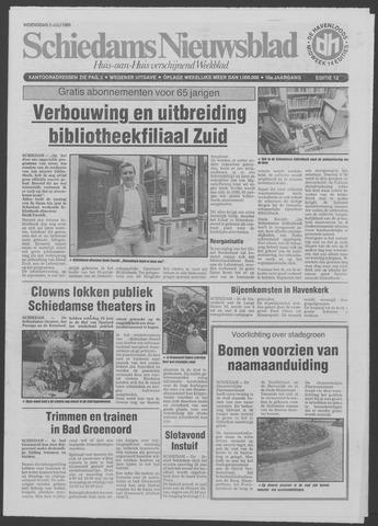 Schiedams Nieuwsblad 1985-07-03