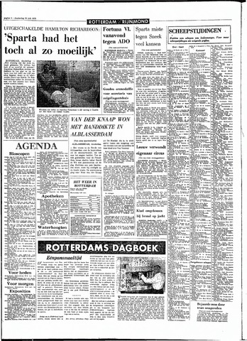 Rotterdamsch Parool / De Schiedammer 1970-07-23