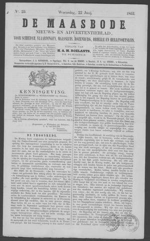 De Maasbode 1853-06-22