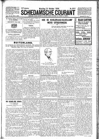 Schiedamsche Courant 1929-10-21
