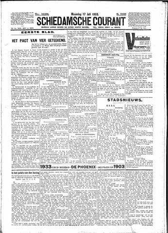 Schiedamsche Courant 1933-07-17