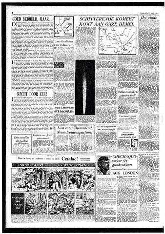 Rotterdamsch Parool / De Schiedammer 1957-04-11