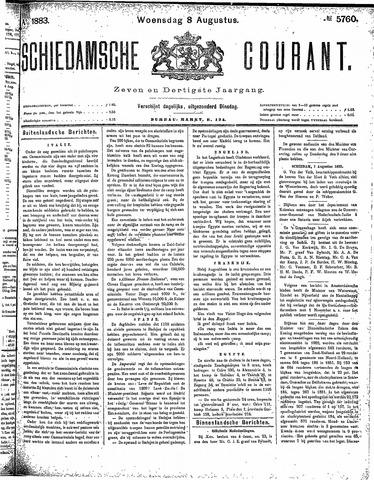 Schiedamsche Courant 1883-08-08