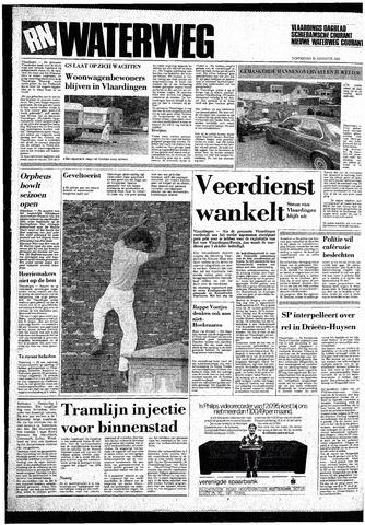 Rotterdamsch Nieuwsblad / Schiedamsche Courant / Rotterdams Dagblad / Waterweg / Algemeen Dagblad 1985-08-22