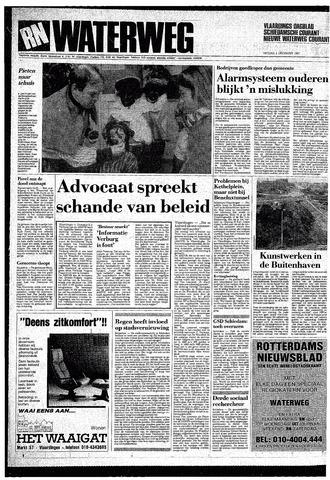 Rotterdamsch Nieuwsblad / Schiedamsche Courant / Rotterdams Dagblad / Waterweg / Algemeen Dagblad 1987-12-04