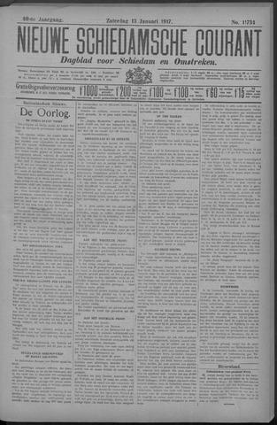 Nieuwe Schiedamsche Courant 1917-01-13