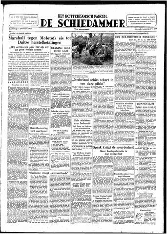 Rotterdamsch Parool / De Schiedammer 1947-12-11