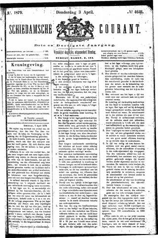 Schiedamsche Courant 1879-04-03