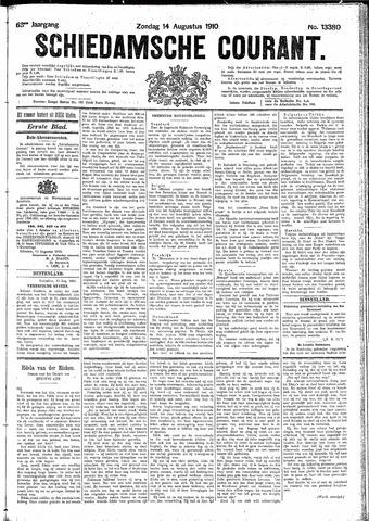 Schiedamsche Courant 1910-08-14
