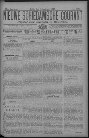 Nieuwe Schiedamsche Courant 1913-09-18