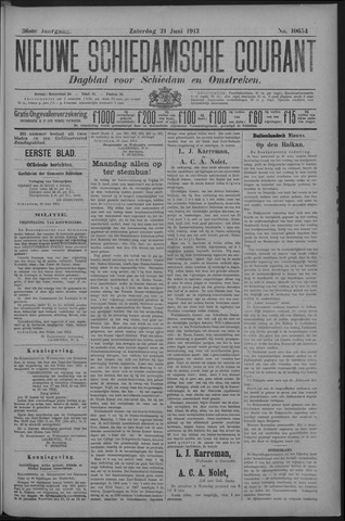 Nieuwe Schiedamsche Courant 1913-06-21