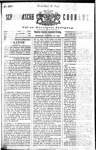 Schiedamsche Courant 1881-06-27