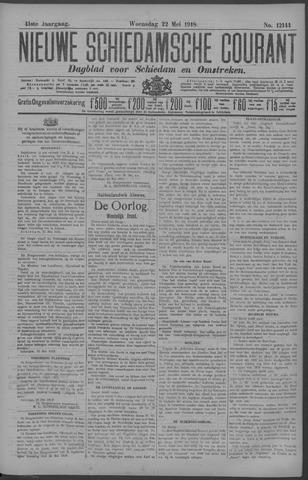 Nieuwe Schiedamsche Courant 1918-05-22