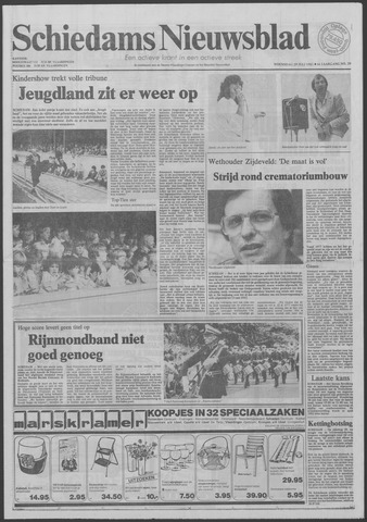 Schiedams Nieuwsblad 1981-07-29