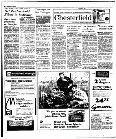Rotterdamsch Parool / De Schiedammer 1966-05-23