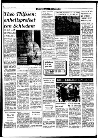 Rotterdamsch Parool / De Schiedammer 1968-06-22