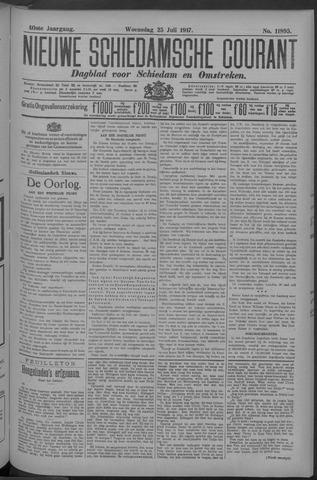 Nieuwe Schiedamsche Courant 1917-07-25
