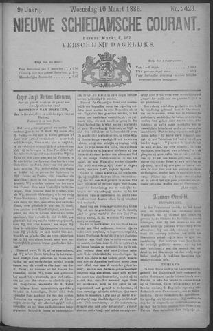 Nieuwe Schiedamsche Courant 1886-03-10