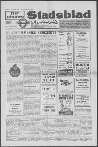 Het Nieuwe Stadsblad 1960-09-02