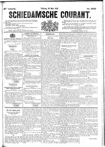 Schiedamsche Courant 1912-05-31