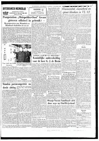 Rotterdamsch Nieuwsblad / Schiedamsche Courant / Rotterdams Dagblad / Waterweg / Algemeen Dagblad 1965-11-02