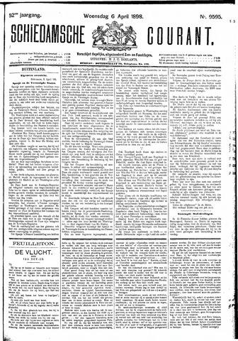 Schiedamsche Courant 1898-04-06