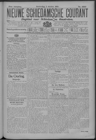 Nieuwe Schiedamsche Courant 1918-10-03