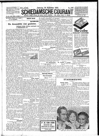 Schiedamsche Courant 1935-09-28