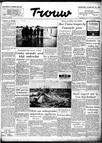 Trouw / De Rotterdammer 1958-02-15