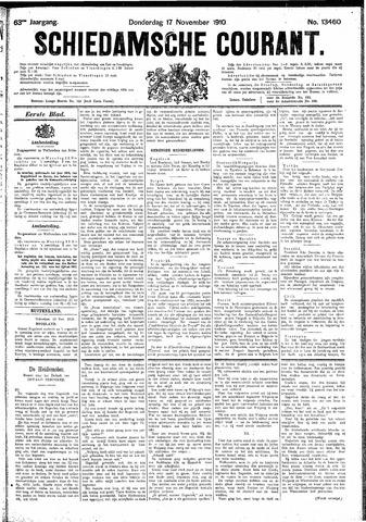 Schiedamsche Courant 1910-11-17