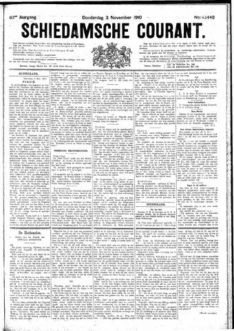 Schiedamsche Courant 1910-11-03