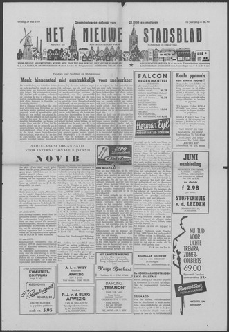 Het Nieuwe Stadsblad 1959-05-29