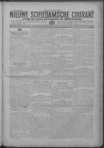 Nieuwe Schiedamsche Courant 1925-02-11