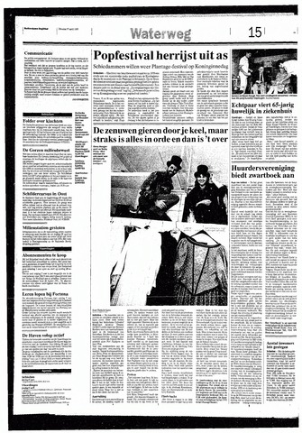 Rotterdamsch Nieuwsblad / Schiedamsche Courant / Rotterdams Dagblad / Waterweg / Algemeen Dagblad 1993-04-27