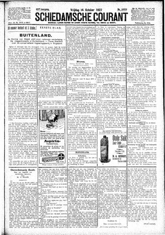 Schiedamsche Courant 1927-10-14