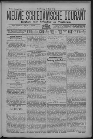 Nieuwe Schiedamsche Courant 1913-05-08