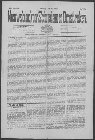 Nieuwsblad voor Schiedam en Omstreken 1892-03-19