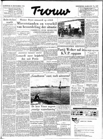 Trouw / De Rotterdammer 1955-09-24