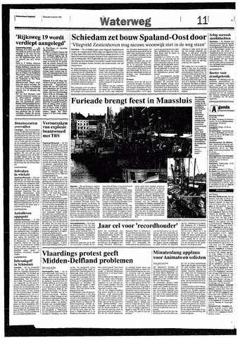 Rotterdamsch Nieuwsblad / Schiedamsche Courant / Rotterdams Dagblad / Waterweg / Algemeen Dagblad 1993-10-04