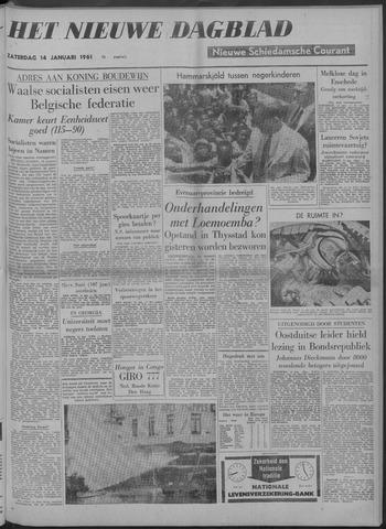 Nieuwe Schiedamsche Courant 1961-01-14