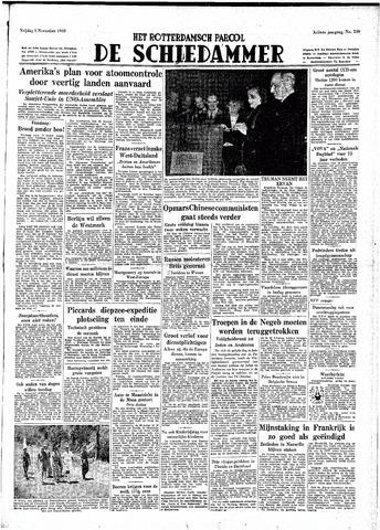 Rotterdamsch Parool / De Schiedammer 1948-11-05